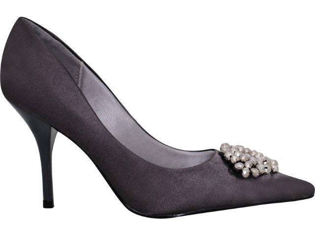 Sapato Feminino Beira Rio 4040517 Cinza
