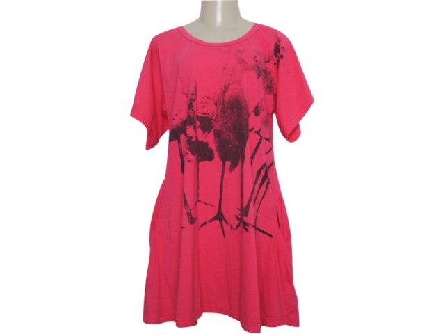Camiseta Feminina Cavalera Clothing 09.02.0749 Rosa