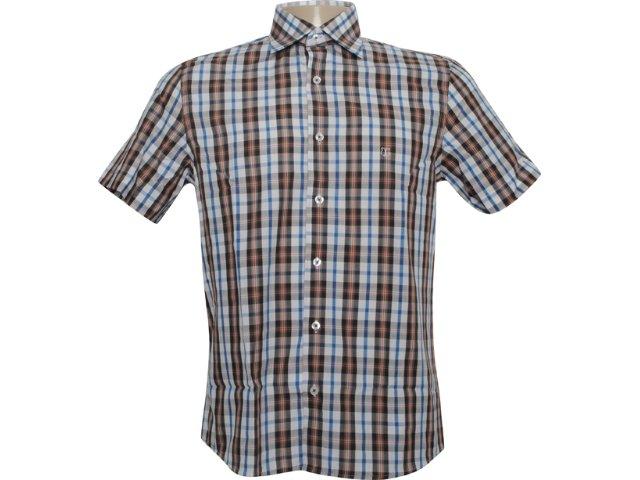 Camisa Masculina Individual 301.410.580 Branco/marrom