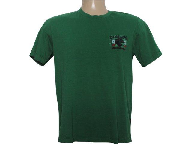 Camiseta Masculina Cavalera Clothing 01.01.5688 Verde