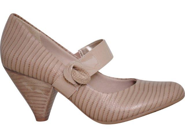 Sapato Feminino Ramarim 1046107 Natural