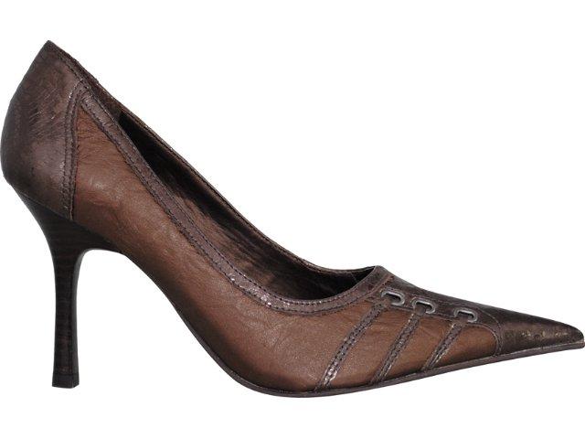 Sapato Feminino Tanara 7882 Bronze