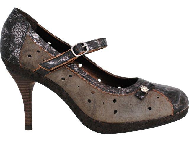 Sapato Feminino Tanara 7702 Castanho