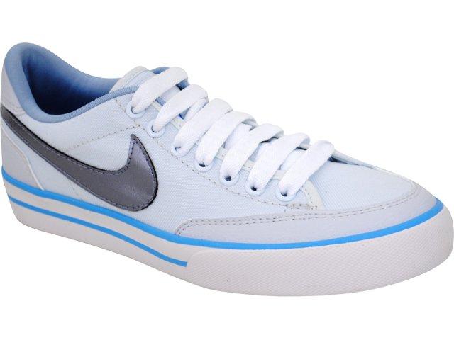 Tênis Feminino Nike Navaro 431908-400  Azul Ciano