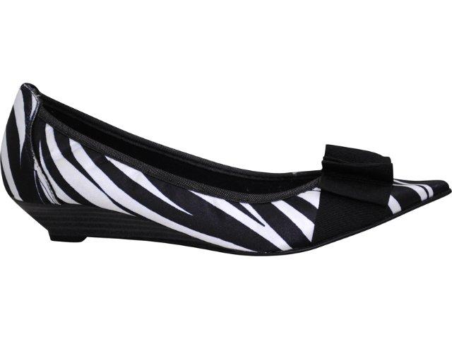Sapato Feminino Brenners 195 Zebra