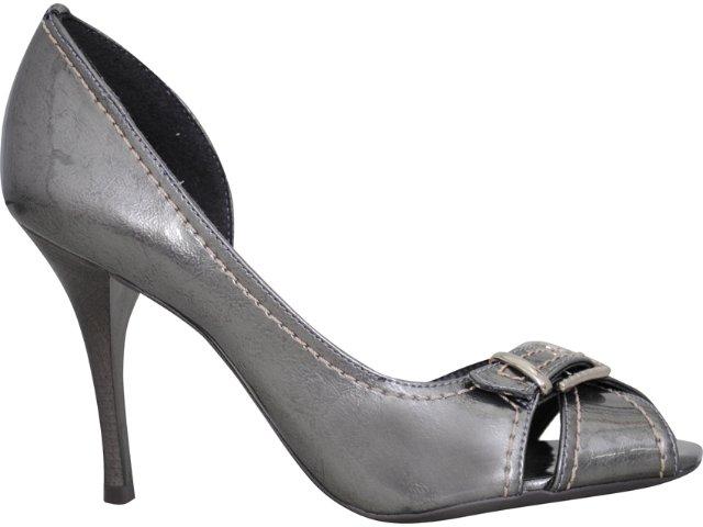 Sapato Feminino Ramarim 18105 Grafite