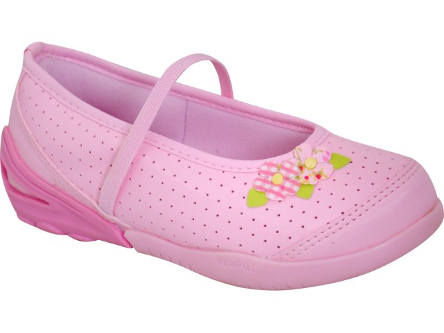 Sapato Fem Infantil Pampili 377.024 Rosa