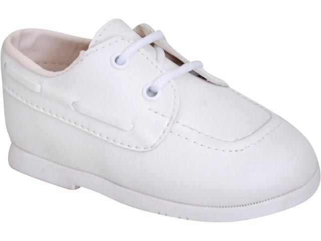 Sapato Fem Infantil Pampili 04.202 Branco