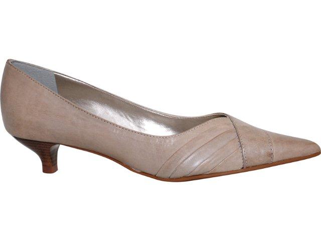 Sapato Feminino Via Marte 08-12601 Cinza