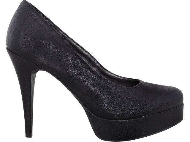 Sapato Feminino Via Marte 10-10501  Preto