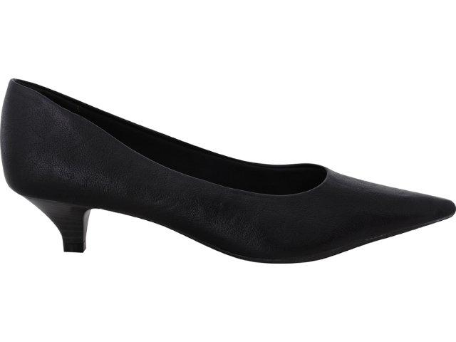 Sapato Feminino Via Marte 10-11001 Preto