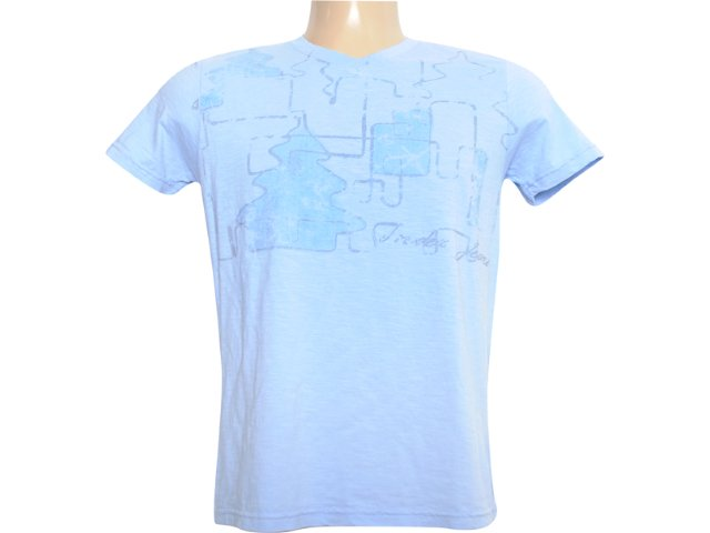Camiseta Masculina Index 08.02.0742 Azul