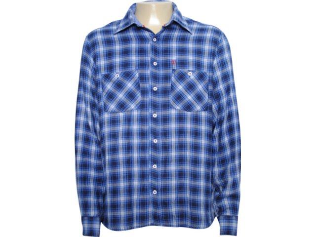 Camisa Masculina Individual 302.415.030 Azul
