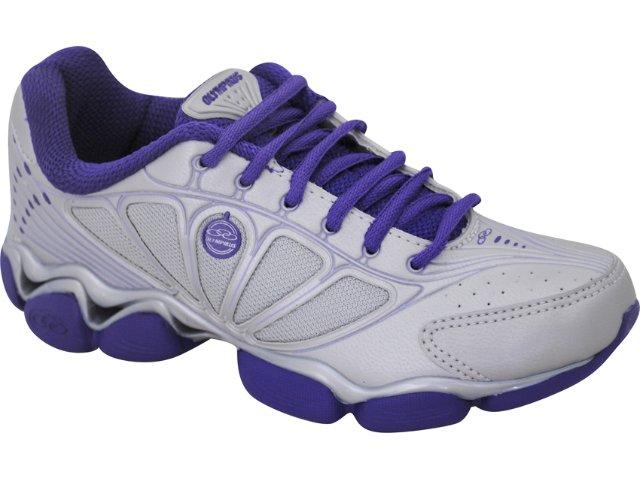 Tênis Feminino Olympikus Tabit Prata/violeta