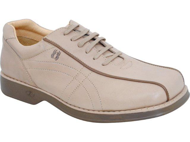 Sapato Masculino Ferricelli 6020 Osso