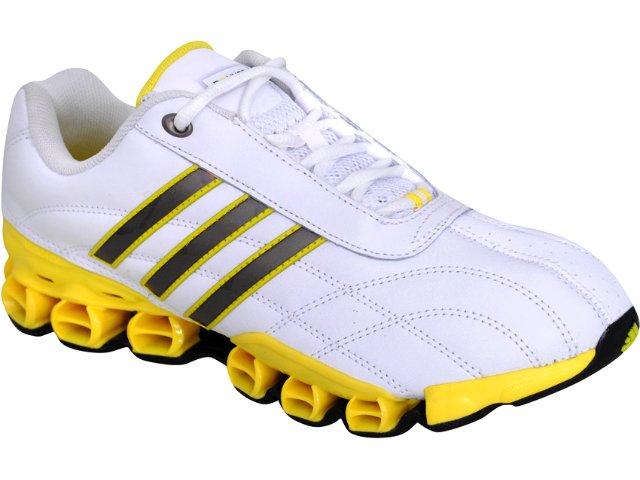 Tênis Masculino Adidas Kundo 11 G42508 Branco/amarelo