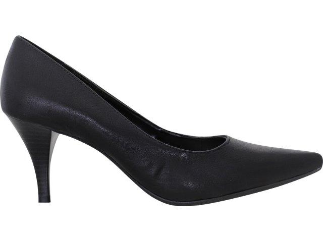 Sapato Feminino Via Marte 10-5605 Preto