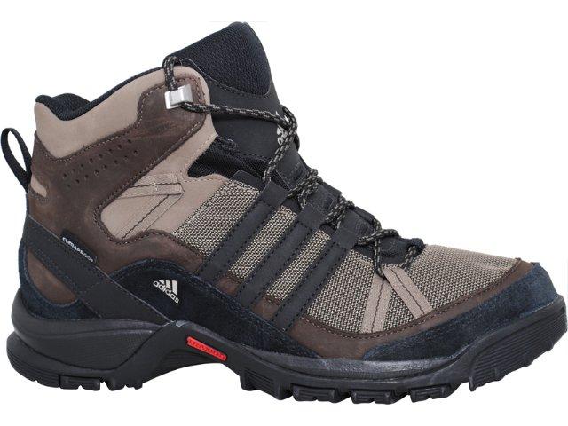 Tênis Masculino Adidas Flint Mid U41605 Marrom/bege
