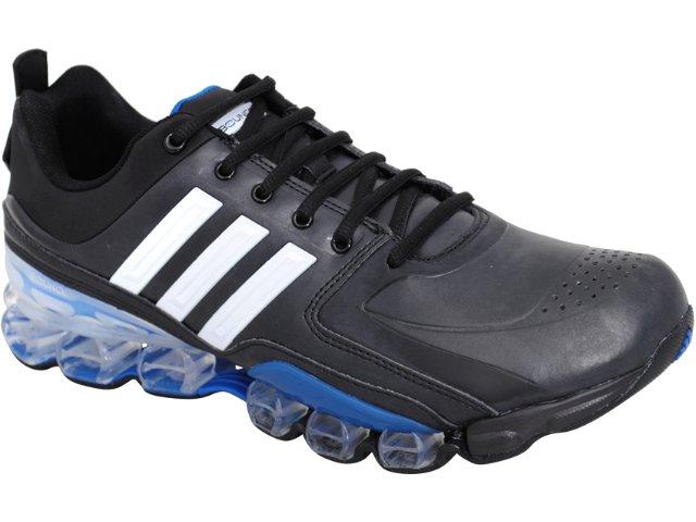 Tênis Masculino Adidas Progno G23990 Preto/branco/azul