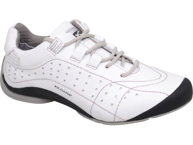 Sapatênis Masculino Kildare Pp421 Branco/prata