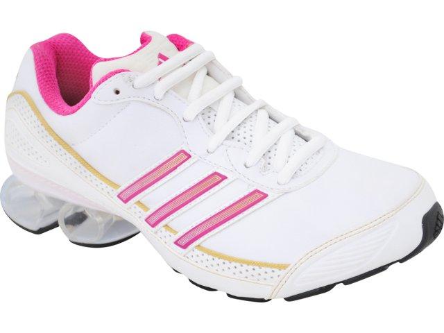 Tênis Feminino Adidas Cosmos G42154 Branco/rosa