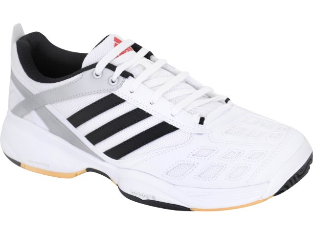 Tênis Masculino Adidas Court Raw G01662 Branco/preto