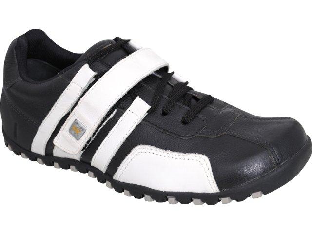 Sapato Masculino West Coast 8321 Preto/branco