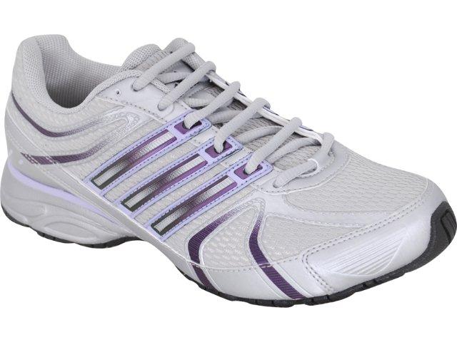 Tênis Feminino Adidas Shikoba 2 G29543 Cinza/lilas