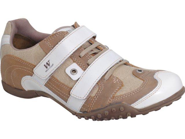 Sapato Masculino West Coast 8944 Creme