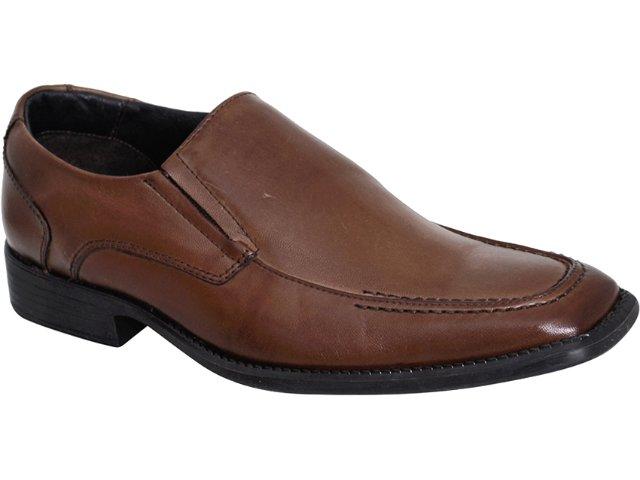 Sapato Masculino Mariner 7102 Marrom