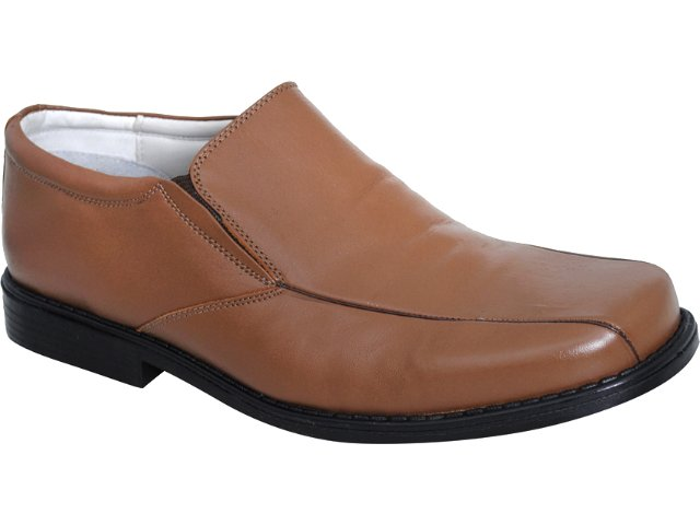 Sapato Masculino Calvest 390964 Café