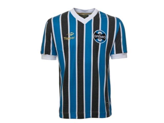 T-shirt Feminino Grêmio C7095f Tricolor