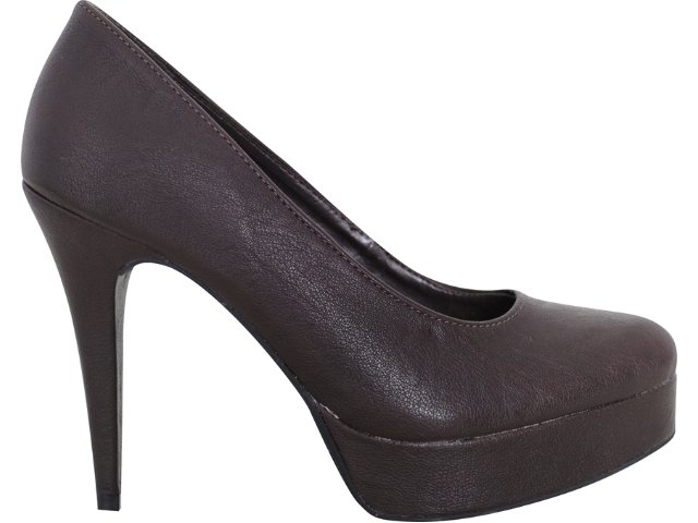 Sapato Feminino Via Marte 10-10501  Café