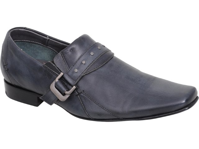 Sapato Masculino Ferracini 5631 Chumbo
