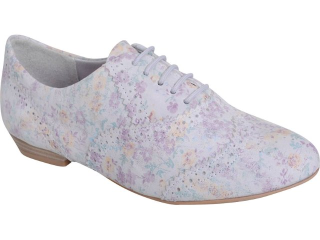 Sapato Feminino Ramarim Oxford 119201 Gelo