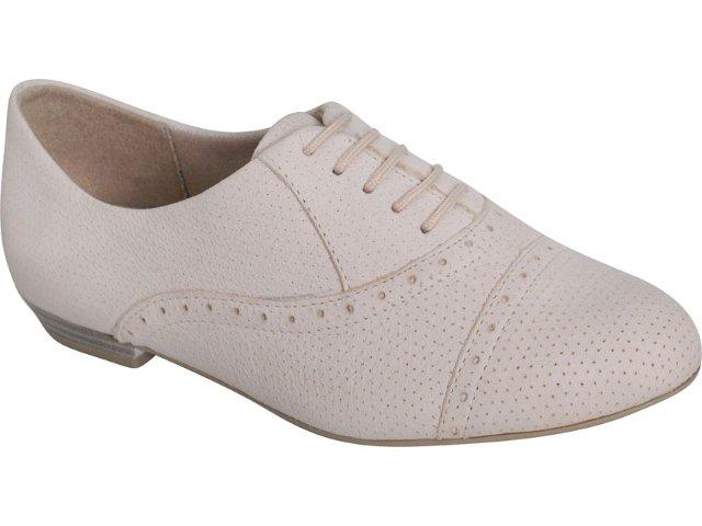 Sapato Feminino Ramarim Oxford 119202 Natural