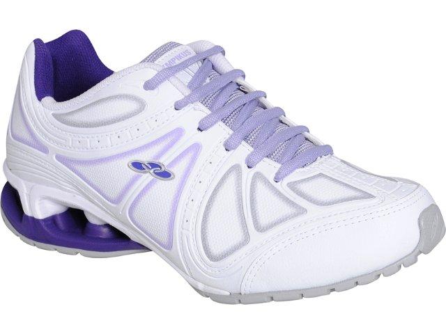 Tênis Feminino Olympikus Power 755 Branco/lilas