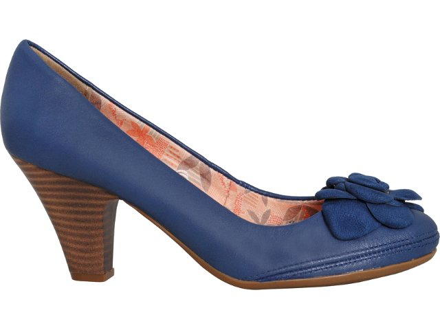 Sapato Feminino Bottero 150604 Marinho