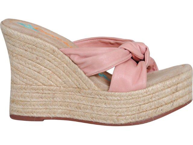 Tamanco Feminino Cravo e Canela Cravo & Canela 528002 Pink