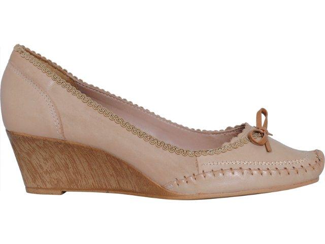 Sapato Feminino Dakota 0432 Creme
