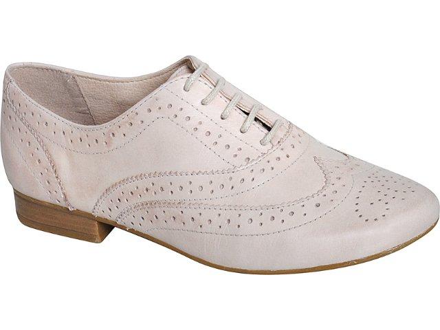 Sapato Feminino Bottero Oxford 149401 Nude