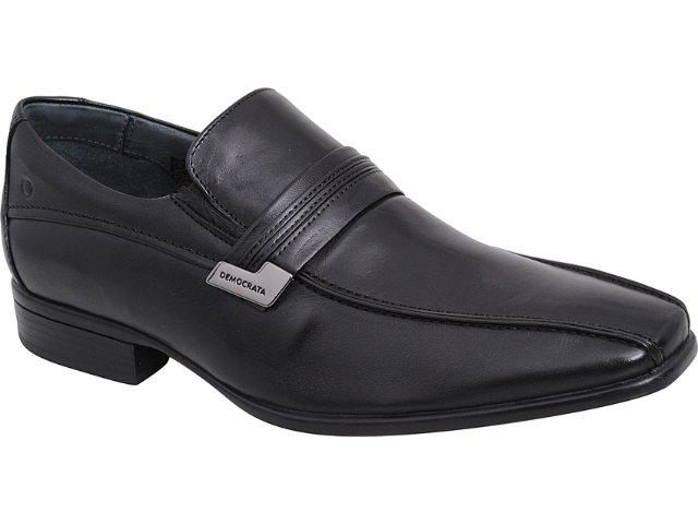 Sapato Masculino Democrata 434014 Preto