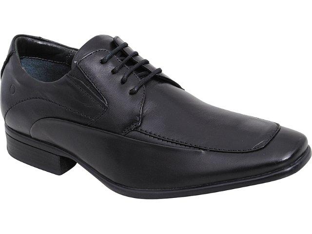 Sapato Masculino Democrata 434009 Preto