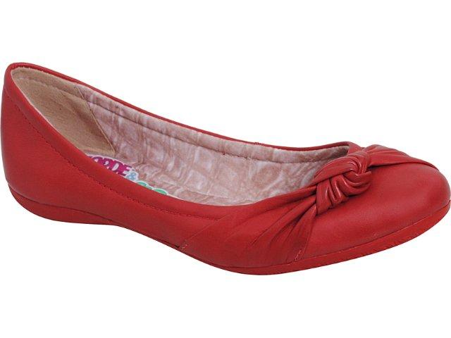 Sapatilha Feminina Bottero 148801 Rouge