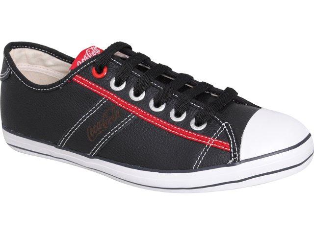 Tênis Masculino Coca-cola Shoes Cc1251001 Preto