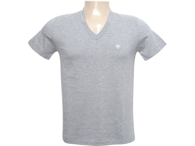 Camiseta Masculina Cavalera Clothing 01.01.6186 Cinza
