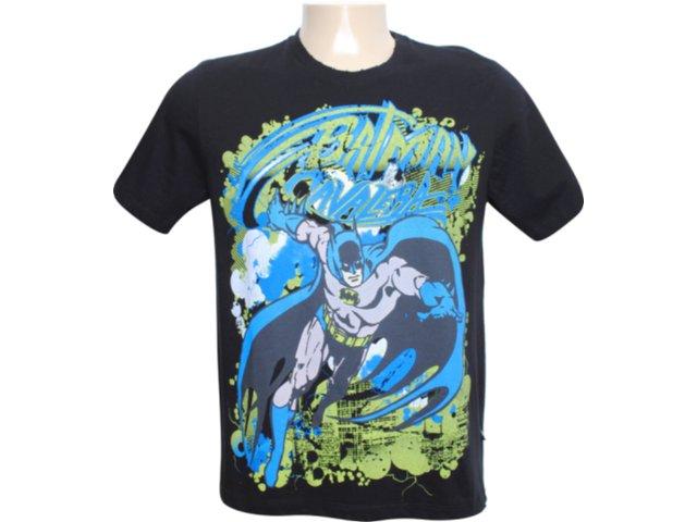 Camiseta Masculina Cavalera Clothing 01.01.6038 Preto