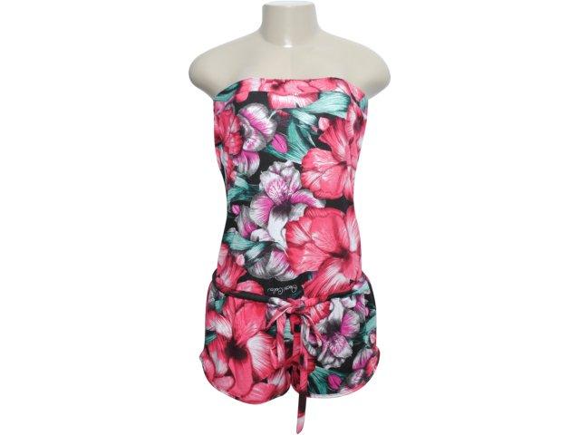 Macacão Feminino Coca-cola Clothing 543200049 Floral