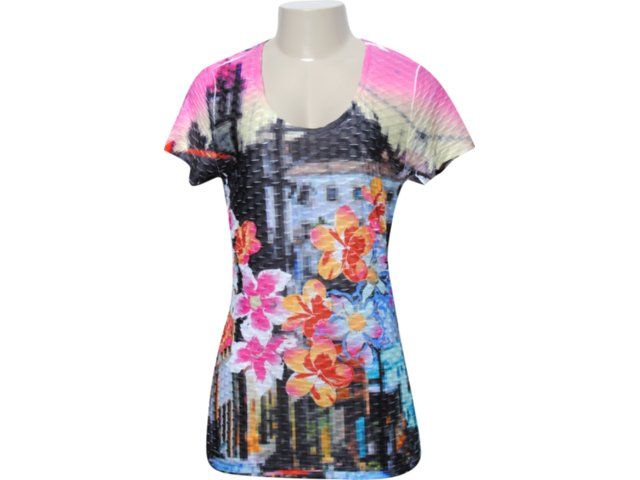 Camiseta Feminina Dopping 015051521 Color