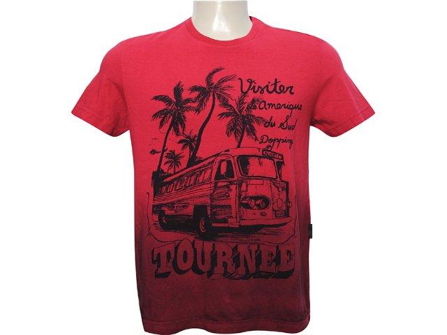 Camiseta Masculina Dopping 015261508 Vermelho